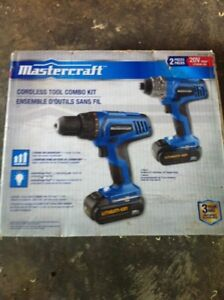 Mastercraft 20volt 1/2 drill and impact driver