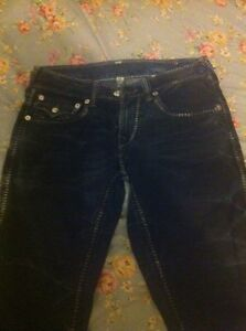 True religion jeans pantalon denim homme sz 30 NEW pants bleu