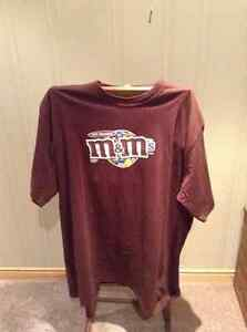 M&Ms milk chocolate brown t-shirt
