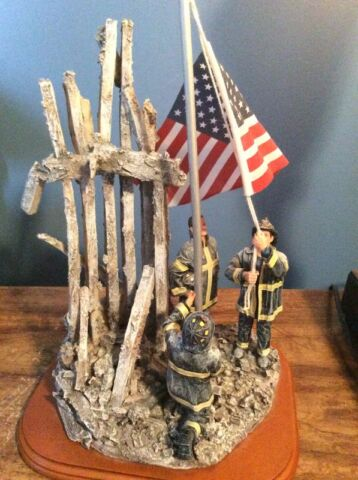 Fireman - 911 Ground Zero Monument and other fire collectibles