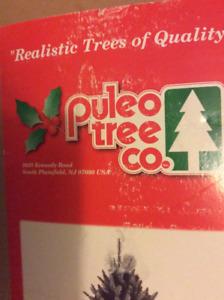 Large artificial flame retardant Christmas tree