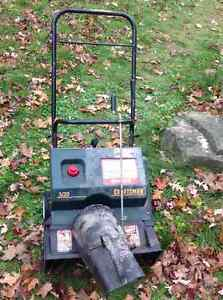 "Snowblower  Craftsman gas 3HP 20"" electric start USA-rarely used"