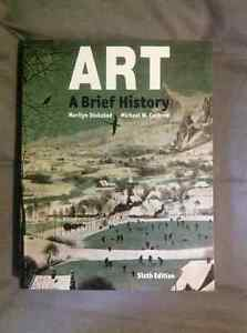 ART A Breif History 6th Edition Text Book