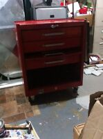 Workshop tool chest on wheels