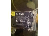 epson ink cartridges , coloured ink x 4 .