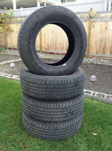 Set of four Wrangler SRA tires