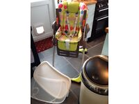 Chicco Polly 2 in 1 Highchair