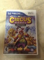 Wii circus game