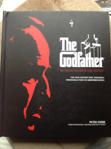 RARE GODFATHER-HARDCOVER COLLECTORS EDITION - NEW
