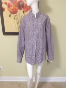 Croft & Barrow  Designer Shirt.  Size Large