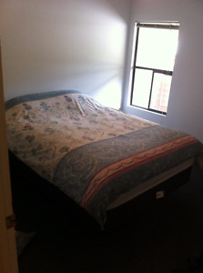 Kingsdown Queen-Sized Bed with Box Spring