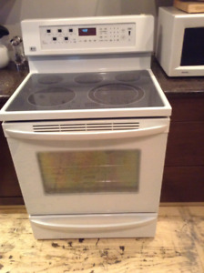 Stove available at 25 Otter Crescent garage sale!