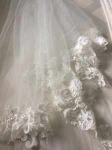 NEW Pronovias wedding veil voile de mariage