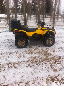 Can Am 400 Outlander 2 up