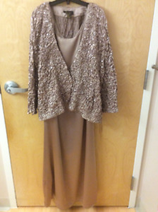 Formal dress and jacket by Oblique. $25!