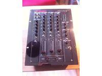 VESTAX PCM-170A 3 channel mixer Dj vinyl