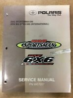 SHOP MANUAL POLARIS SPORTSMAN/ 6X6