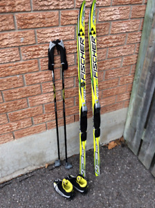 Ensemble Ski de fond junior Fisher