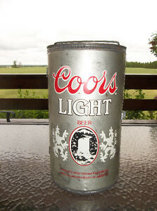 Vintage collectible Coors Light beer can barbecue