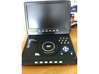 Portable DVD video player