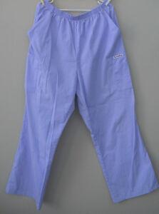 Femme (GR XL) Pantalon mauve Scrubstar infirmière / préposée.