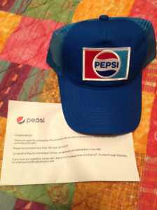 Pepsi Official Trucker Hat (From Jurassic World Contest)