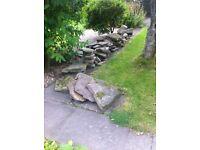 Pond / rockery rocks