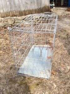 FREE - Older style dog crate