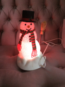 Light changing Snowman ⛄️