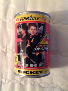Pavel Bure Silver Can Pinnacle Hockey Cards in a Can
