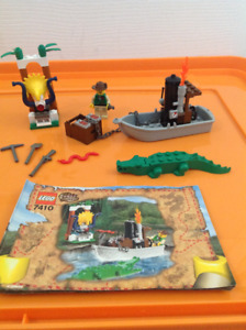 Lego Set 7410 Orient Expedition Jungle River