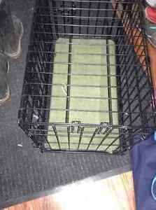 Small metal dog crate for sale