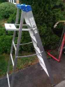Aluminum Stepladder 6 feet high - like new used only few times