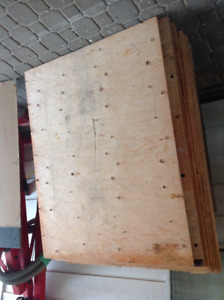 """50 SHEETS OF 3'x4'x3/8"""" PLYWOOD"""