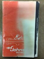 JOHNSON OUTBOARD 2 HP OWNERS MANUAL