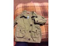 Gap jacket, age 2 years