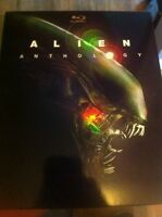 ALIEN ANTHOLOGY- BLURAY MINT CONDITION!!