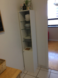 High Cabinet Washroom / Kitchen White shelf IKEA