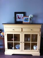 Hutch and dining set $2,250 OBO