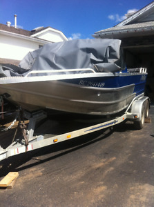 18 ft thunder jet river boat for sale
