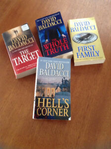 DAVID BALDACCI 6 BOOKS