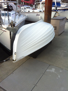 8' traditional fibreglass dinghy