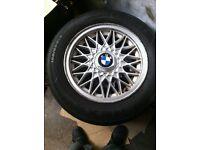 BMW E30 GENUINE BBS ALLOY 4X100