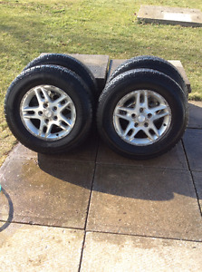 Motomaster total terrain APX Tires and rims