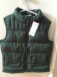 Gymboree forest green vest......NEW!