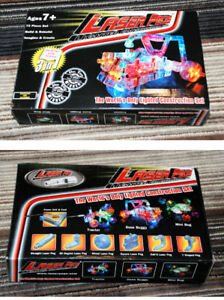 Laser Building Construction Set Toy Laser Peg. Very Good cond
