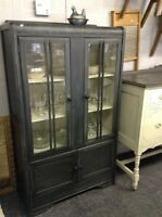 ANTIQUE 1930's refinished cabinet - now $324 & more!!