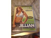 Jillion Michaels Shred it with weights DVD & 8kg kettlebell