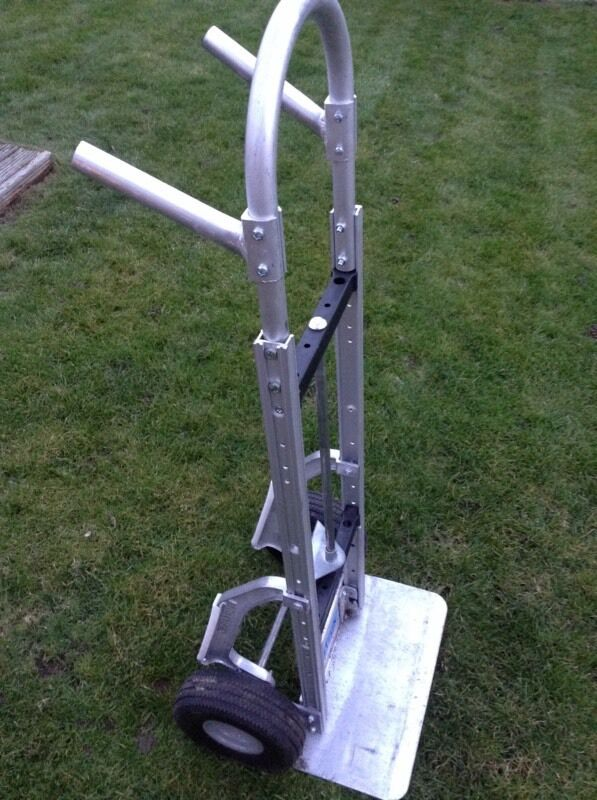 Alu truk aluminium heavy duty sack barrow like newin Ware, HertfordshireGumtree - Ali truk sack barrow in new conditionIt was £180 new, £50 takes it no offers!Cash on collection