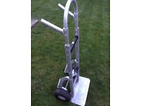 Alu-truk aluminium heavy duty sack barrow like new!